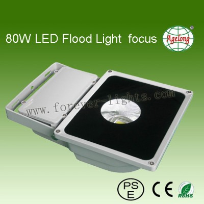 80W LED Flood Light focus 50°