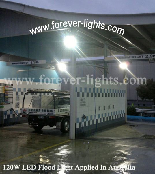 Australia,120W LED Flood Light Applied In Australia