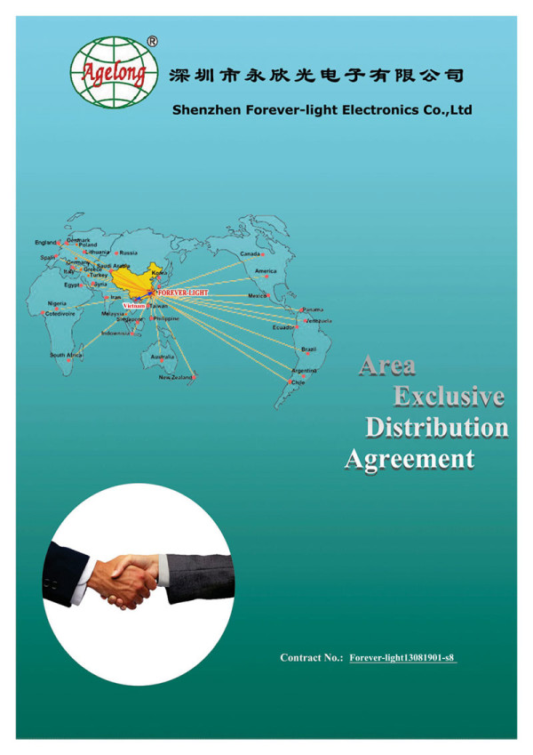 Signed an Exclusive Distribution agreement with Vietnam's client