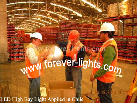 Chile,LED High Bay Light Applied in Chile