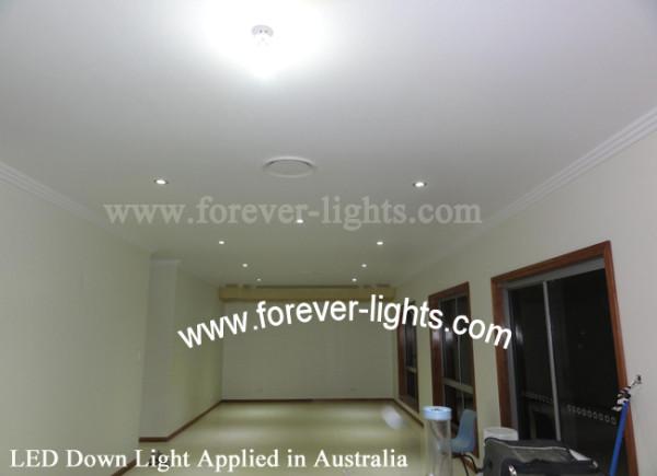 澳大利亚-LED天花灯应用在客厅