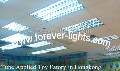 香港-LED灯管应用在玩具工厂