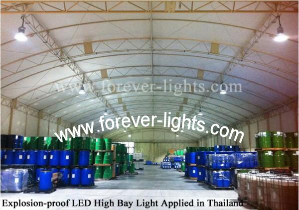 泰国-150W 防爆LED工矿灯应用在化工仓库