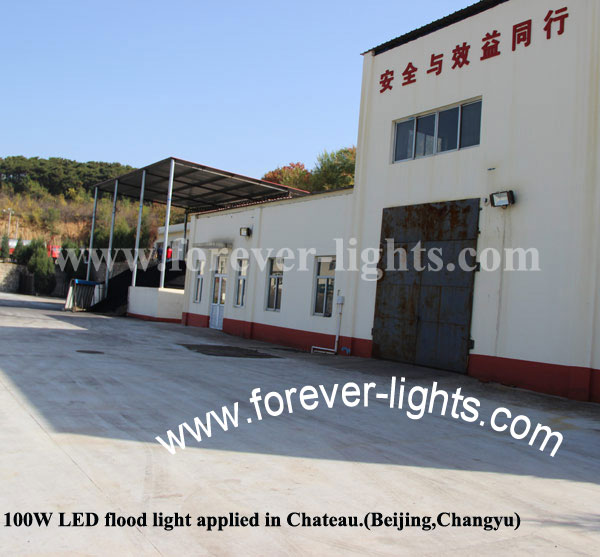 China,100W led high bay lights applied in Chateau (beijing,Changyu)