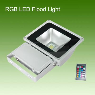 80W RGB led flood light