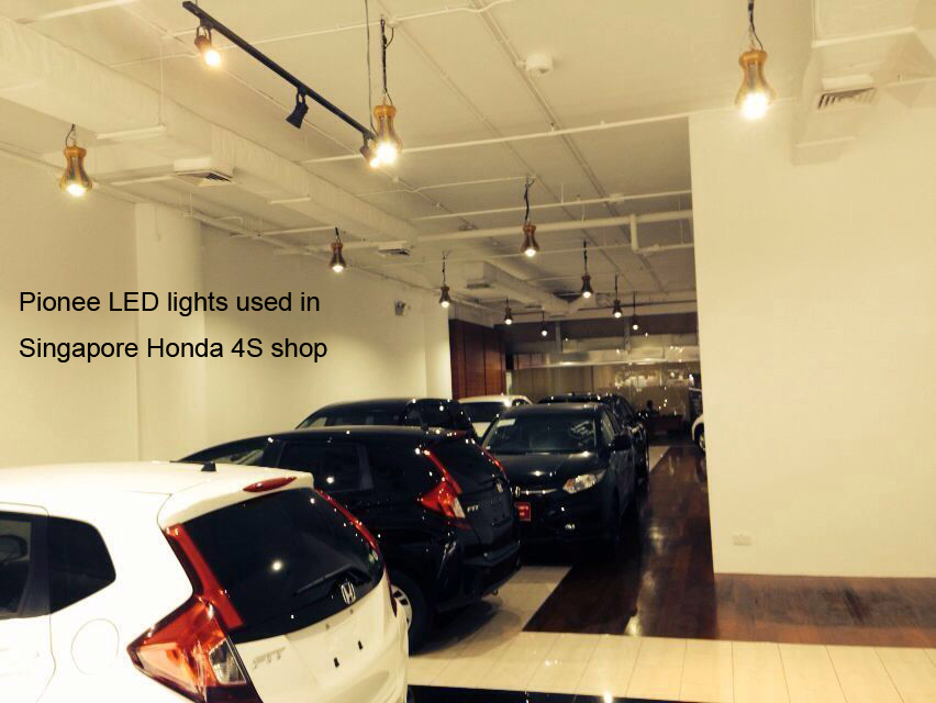 Singapore,Pionee LED lights used in Singapore Honda 4S shop