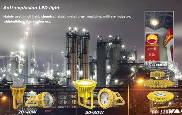 New Products, Explosion proof LED lights (EXD)