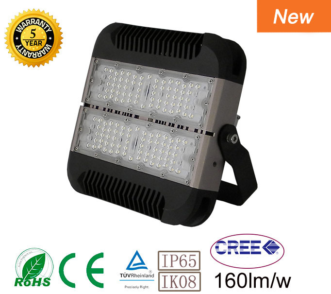 Square LED high bay light 240W