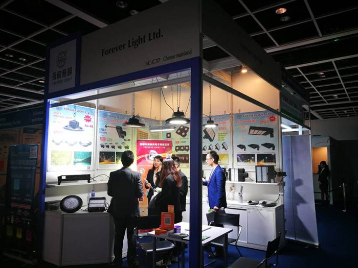 Hong Kong International Lighting Fair in April, 2017