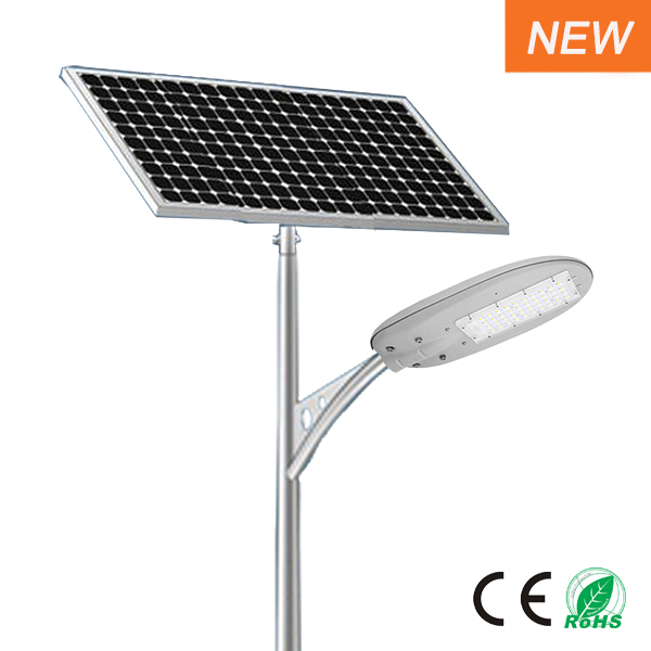 Mini solar LED street light 50W