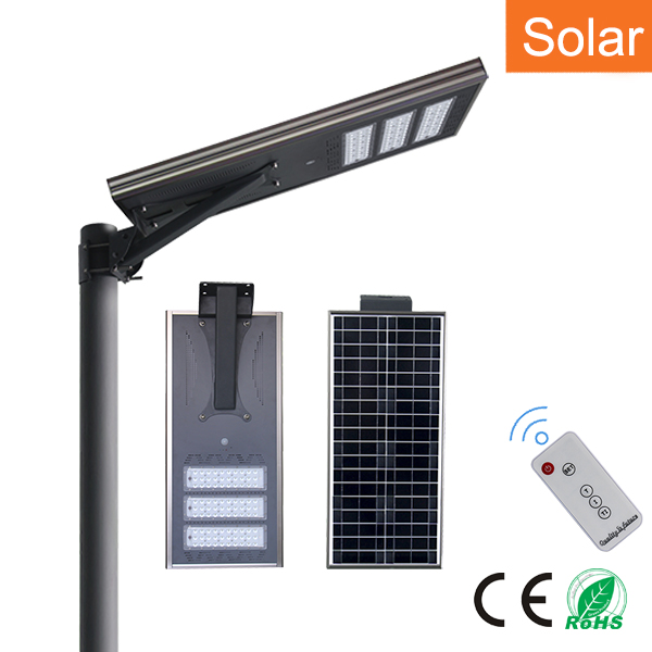 Solar LED street lights 80W
