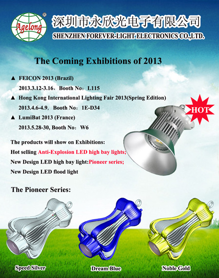 The Exhibition Plan In the first half of 2013