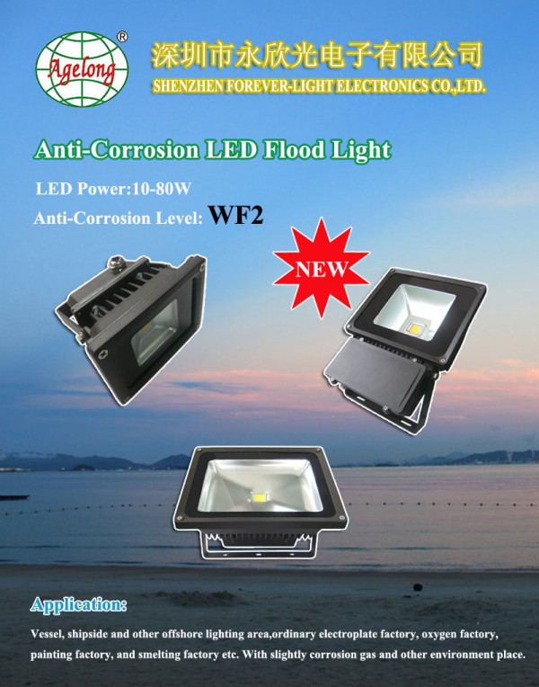 WF2 Anti-Corrosion LED flood light