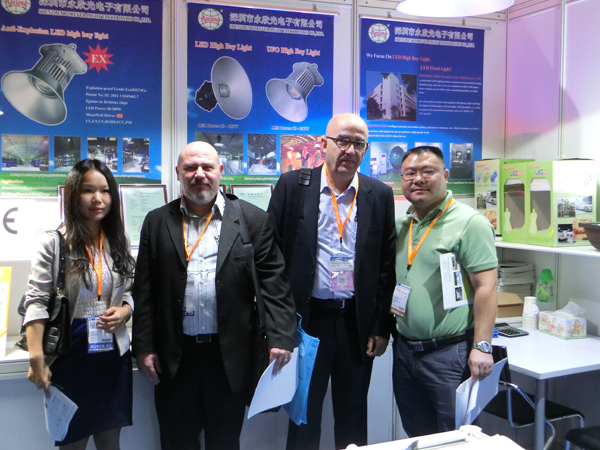 Have a successful ending on 2013 Hong Kong International Lighting Fair