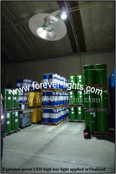 Thailand,150W explosion-proof LED High Bay Light Applied in Thailand