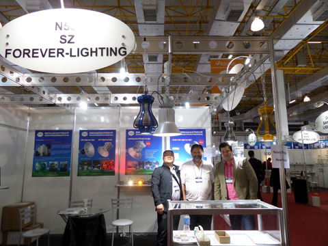 Successfully participation of 2014 Lighting Fair in Sao Paulo, Brazil