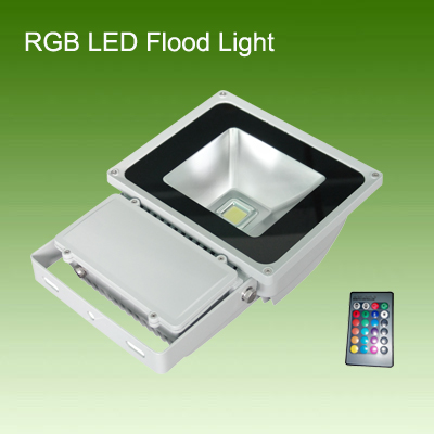 80W RGB led flood light