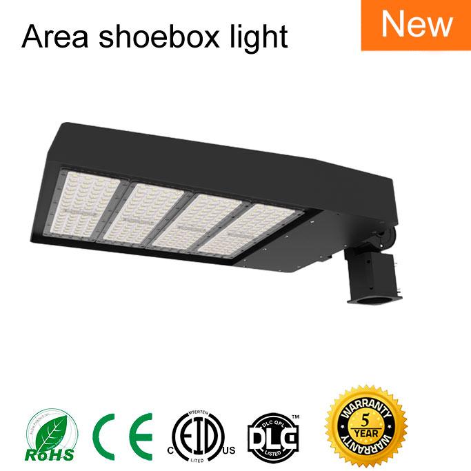LED shoebox light 400W
