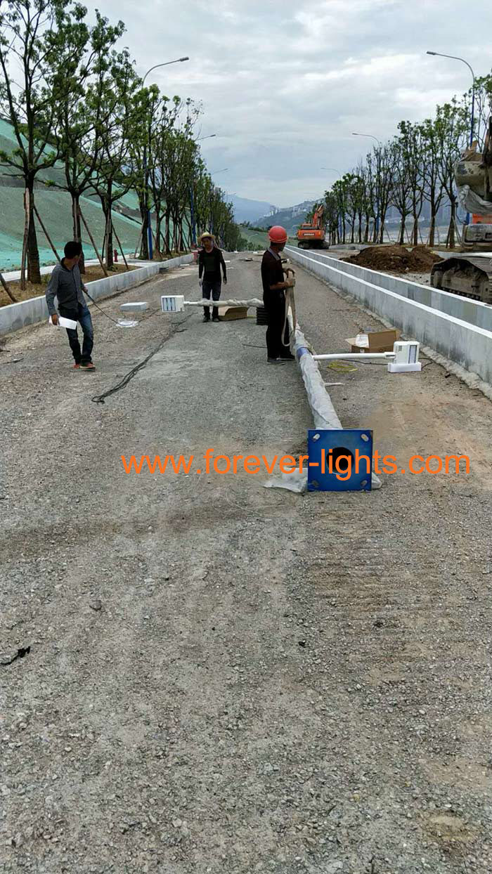 Chongqing Wushan–Transformers PLC Smart LED street light