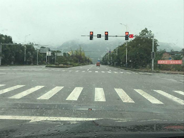 Chongqing-Transformer street light applied in nanchuan district, chongqing