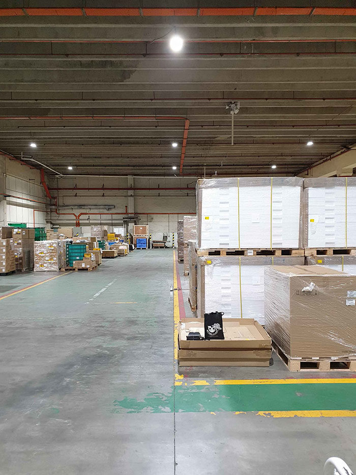 Malaysia -UFO High Bay applied in warehouse lighting