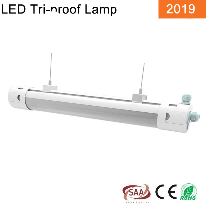 Round tri-proof light 50W 1200MM